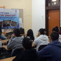 The opening of a new class at the Gutman High School in Netanya